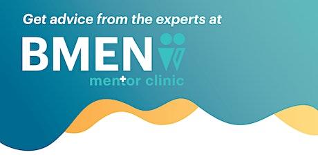 BMEN Mentor Clinic 29 January 2021 tickets