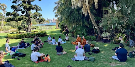 Morning Meditation in the Botanical Gardens tickets