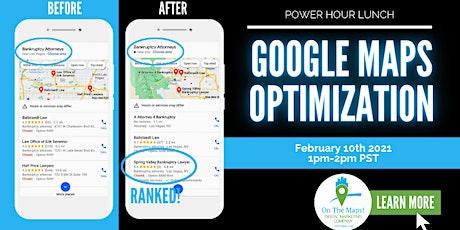 Google My Business Optimization Workshop - Power Hour Lunch billets