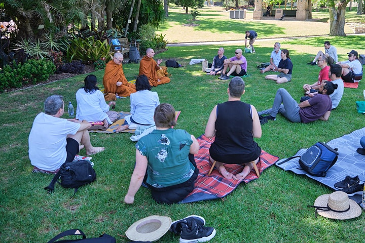Morning Meditation in the Botanical Gardens NOW ONLINE image