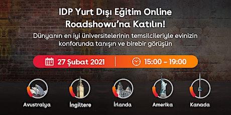 IDP Türkiye Yurt Dışı Eğitim Online Fuarı tickets