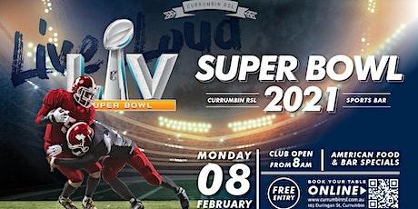 Super Bowl 2021 - Currumbin RSL Sports Bar tickets