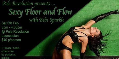 Sexy Floor and Flow Workshop + Pleaser Heels Order opportunity Launnie tickets