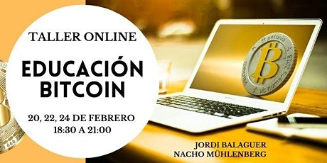 Curso de iniciación al  Bitcoin y las criptomonedas boletos