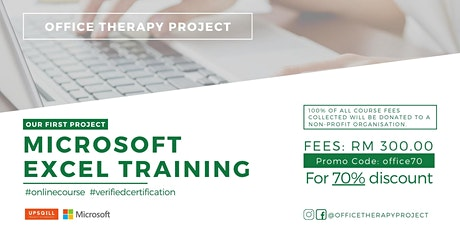 Microsoft Excel Training by Office Therapy Project tickets