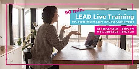 LEAD Live Training – New Leadership mit dem Führungskompass Tickets