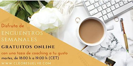 El Café de los Martes: Encuentros de Coaching Online Gratuitos entradas