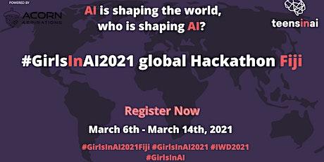 #GirlsInAI2021 Hackathon – Fiji tickets