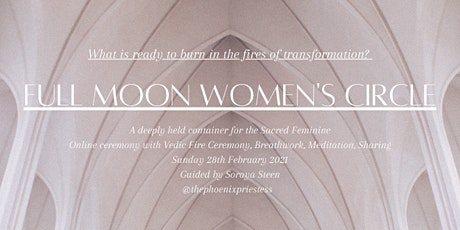 Women's Circle | Full Moon: Vedic Fire Ceremony & Breathwork tickets