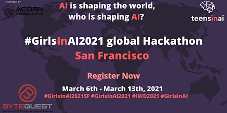 #GirlsInAI2021 Hackathon – San Francisco tickets