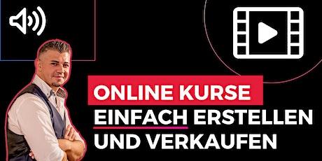 Online Kurse EASY erstellen und verkaufen Tickets