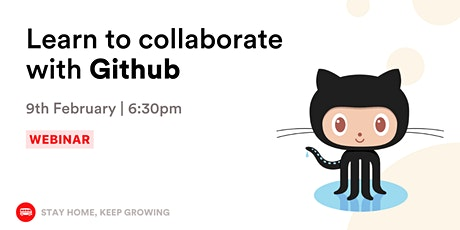 [Webinar] Git and GitHub for Beginners tickets