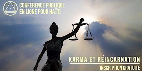 Conférence publique en ligne pour Haïti - Karma et Reincarnation billets