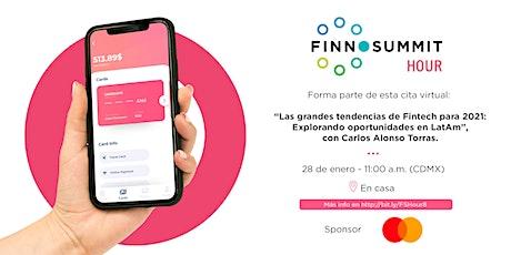 FINNOSUMMIT Hour: Grandes tendencias Fintech para 2021 entradas