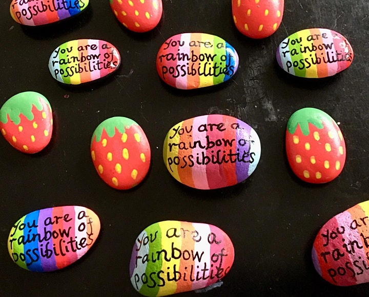 April 17th Paint your own Stone Event for Florence Park Naturescape! image