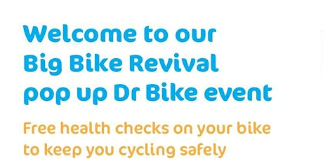 Dr Bike FREE bike check & repair << Monday 15th February 2021 >> tickets