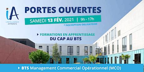 PORTES-OUVERTES | iA St-Nazaire RDV BTS Management Commercial Opérationnel billets