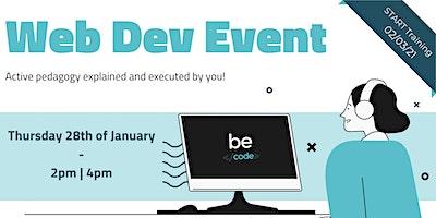 Web Dev Event – BeCode Antwerp