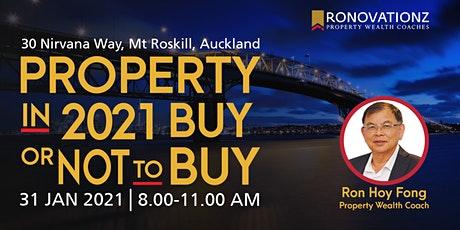 The Ronovationz Breakfast :Property in 2021 To Buy or not To Buy? tickets