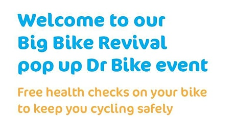 Dr Bike FREE bike check & repair  >>Monday March 8th 2021<< tickets