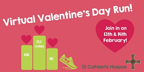 St Cuthbert's Hospice Virtual Valentine's Day Run 2021 tickets