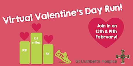 St Cuthbert's Hospice Virtual Valentine's Day Run 2021 tickets