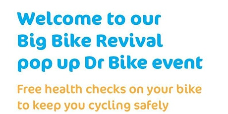 Dr Bike FREE bike check & repair  >>Monday March 22nd 2021<< tickets