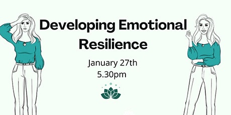 Copy of Wellness Workshop: Developing Emotional Resilience tickets