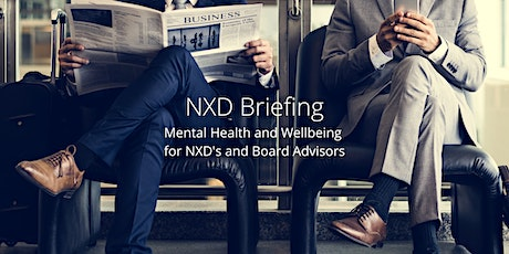 NXD Briefing - Mental Health and Wellbeing tickets