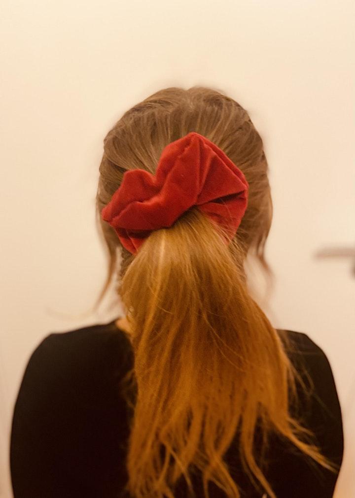 ONLINE Make your own Scrunchie Workshop! image