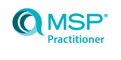 MSP Advanced Practitioner 2 Days Virtual Live Training in Edmonton tickets