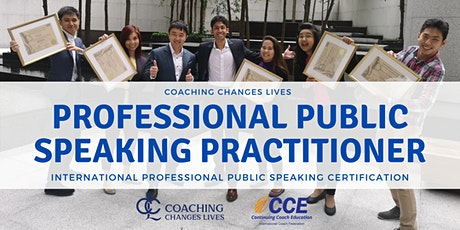 Professional Public Speaking Practitioner (ICF Approved) Singapore tickets