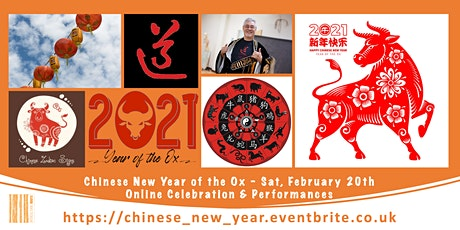 Online Celebration of Chinese New Year 2021 'The Year of the Ox' tickets