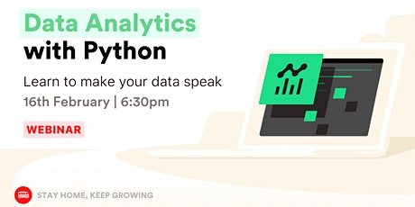 [Webinar] Data Analytics for beginners tickets