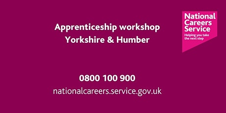 Apprenticeship  opportunities Workshop - Bradford, Keighley & Halifax tickets