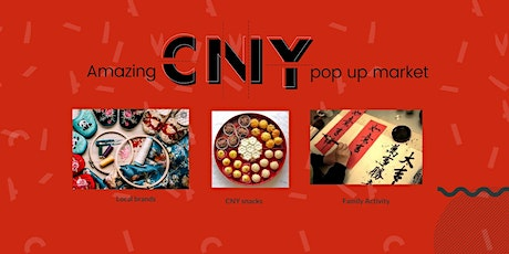 Chinese pop up market with family activities tickets