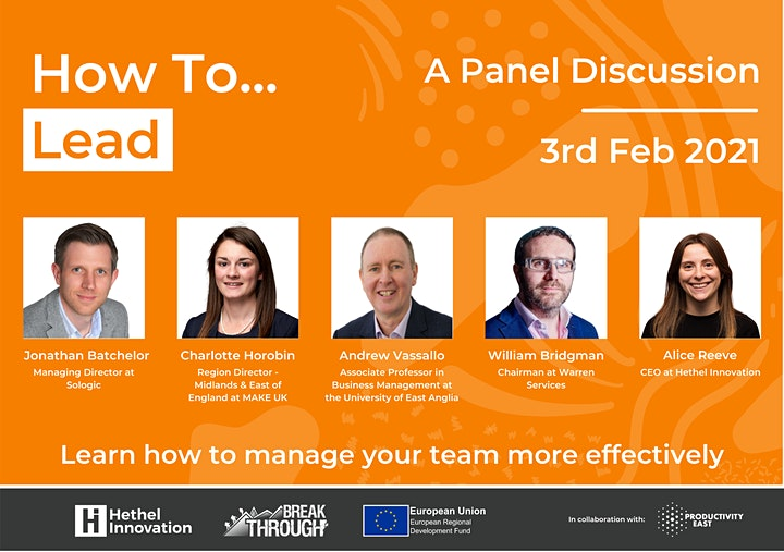 How to: Lead (Virtual Panel Discussion) image