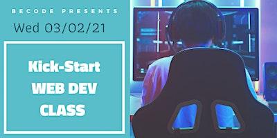 Kick-Start Web Dev Class
