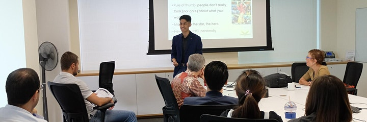 Professional Public Speaking Practitioner (ICF Approved) Singapore image