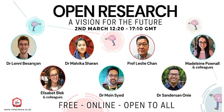 Open Research: A Vision for the Future | RIOT Science Club tickets