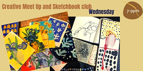 Online Creative Meet-Up and Sketchbook Club tickets