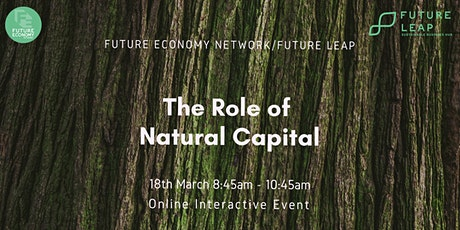 The Role of Natural Capital tickets