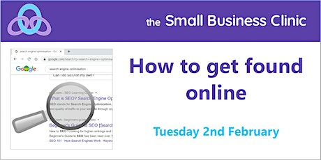 How to Get Found Online 2nd February tickets