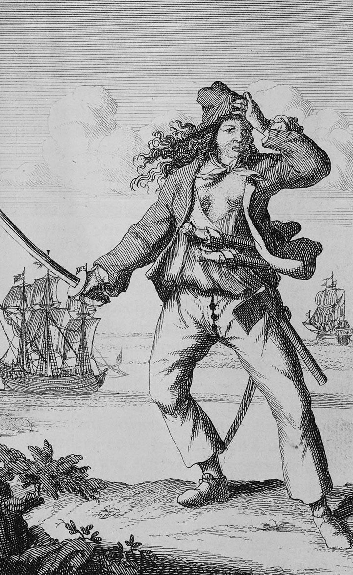 Rebel Women – Female Pirates - Women's History Month image