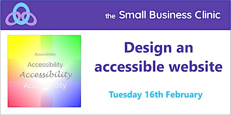 Design an Accessible Website, 16th February tickets
