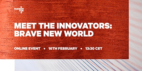 Meet the Innovators: Brave New World tickets