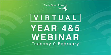 Virtual Year 4 & 5 Open Event Webinar tickets