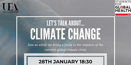 Let's Talk About... Climate Change & Health tickets