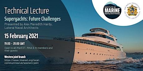 WEBINAR - Superyachts: Future Challenges tickets