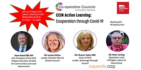 Action Learning: Cooperation through Covid-19 - Labour Local Govt Conf tickets